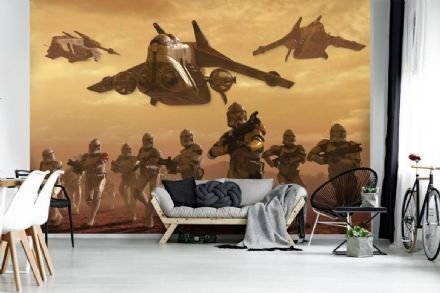 Star Wars Klones War wall mural